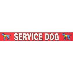 Red Service Grosgrain Ribbon
