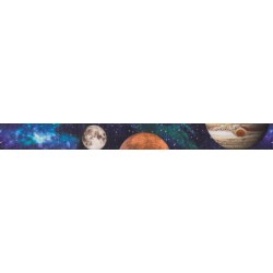 3/4 Inch Galactic Neighbors Photo Quality Polyester