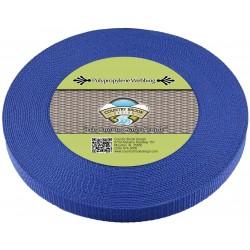 3/4 Inch Victorian Blue Heavy Polypro Webbing