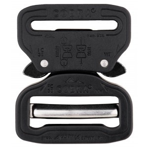1 1/2 Inch Cobra® The Original Buckle Anodized Matte Black