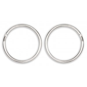 1 Inch Split Ring Key Chain Rings Closeout