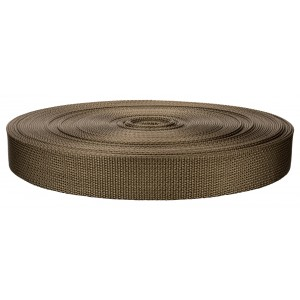 1 Inch Marpate Coyote Tan Lite Weight Nylon Webbing Closeout