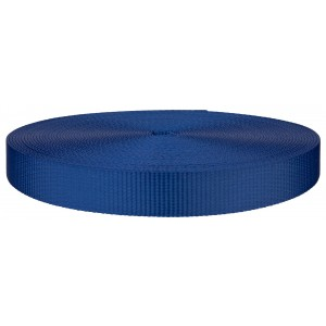 1 Inch Royal Blue Polyester Webbing Closeout