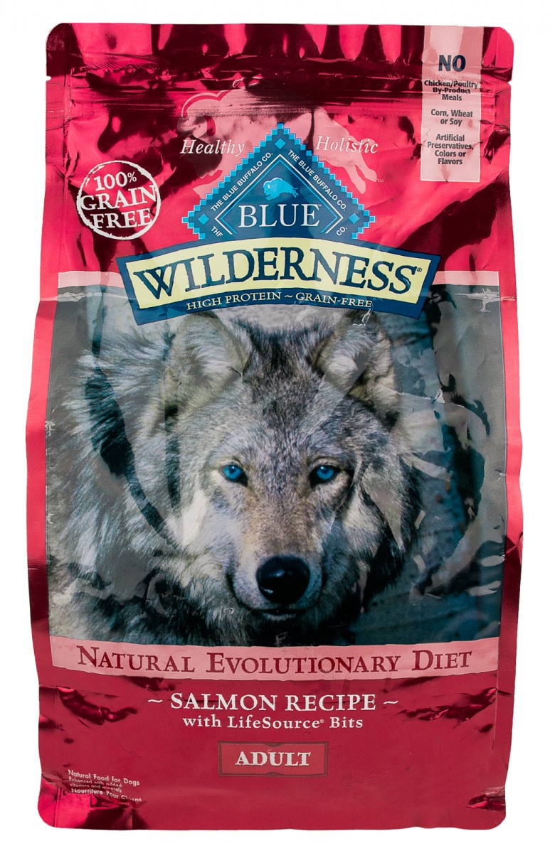Buy Blue Wilderness Salmon Recipe Adult Dog Food 4 5 Lb Bag Online