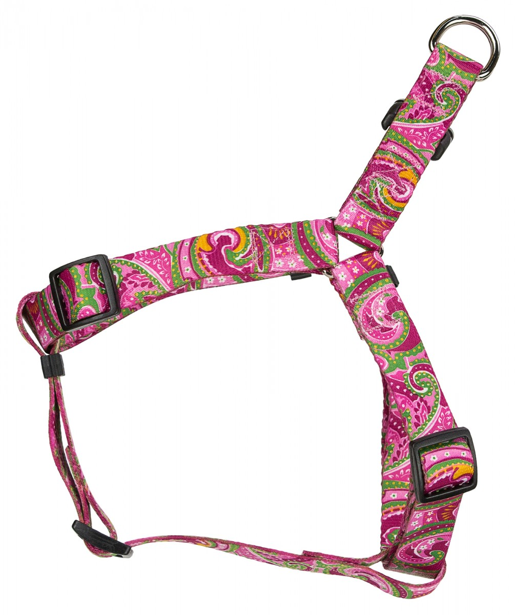 Buy Pink Paisley Step In Dog Harness Online