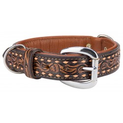 Angel™ Tucson Leather Dog Collar