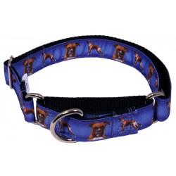 Boxer Ribbon Martingale Dog Collar Limited Edition