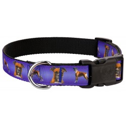 Deluxe Boxer Ribbon Dog Collar