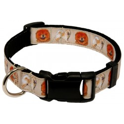 Deluxe Chow Chow Ribbon Dog Collar
