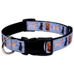 Deluxe Labrador Retrievers Ribbon Dog Collar