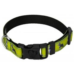 Deluxe Schnauzer Ribbon Dog Collar