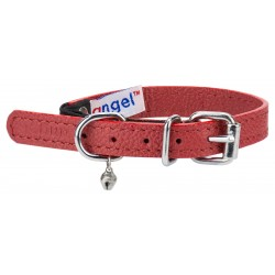 Angel™ Alpine Valentine Red Leather Cat Collar