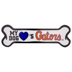 My Dog Loves Florida Bone Magnet