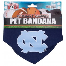 North Carolina Tar Heels Dog Bandana