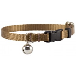 Coyote Tan Nylon Cat Collar