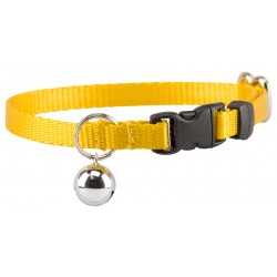 Gold Nylon Cat Collar