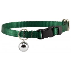 Green Nylon Cat Collar