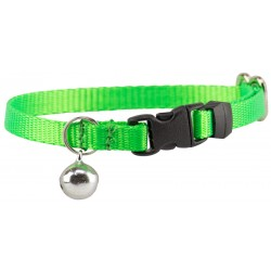 Hot Lime Green Nylon Cat Collar