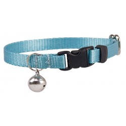 Ocean Blue Nylon Cat Collar