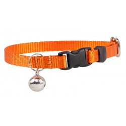 Orange Nylon Cat Collar