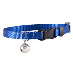 Royal Blue Nylon Cat Collar