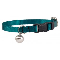 Teal Nylon Cat Collar