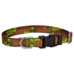 Deluxe Gaia's Grove Feather Weight Dog Collar - Extra Small
