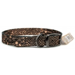 Omni Pet® Bronze Native Leather Dog Collar