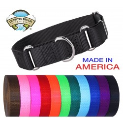 1 1/2 Inch Martingale Heavyduty Nylon Dog Collar