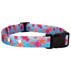Pink April Blossoms Replacement Collar For Dog Fence Receivers