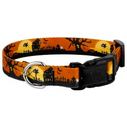Deluxe All Hallow's Eve Dog Collar