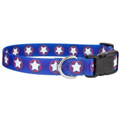 Deluxe American Stars Dog Collar