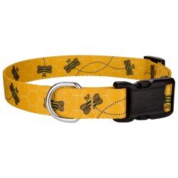 Deluxe Busy Bee Dog Collar