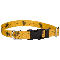 Deluxe Busy Bee Featherweight Dog Collar - Extra Small