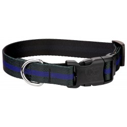 Deluxe Thin Blue Line Dog Collar
