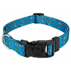 Deluxe Blue Bunny Dog Collar