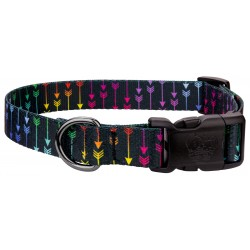 Deluxe Colorful Arrows Dog Collar