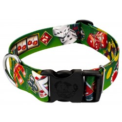1 1/2 Inch Deluxe High Roller Dog Collar