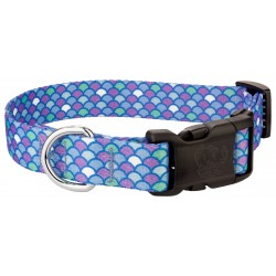 Deluxe Mermaid Scales Dog Collar