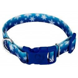 Deluxe Winter Wonderland Dog Collar