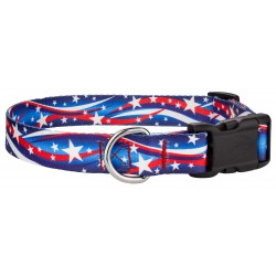 Deluxe Star Spangled Dog Collar