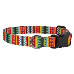 Deluxe Summer Pines Dog Collar