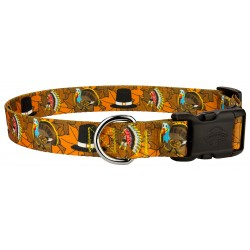 Deluxe Thanksgiving Tradition Dog Collar