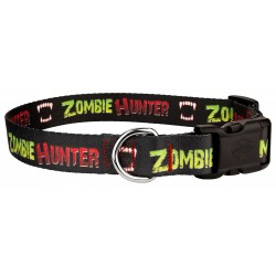 Deluxe Zombie Hunter Dog Collar
