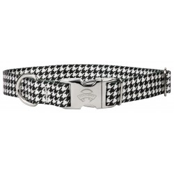Premium Houndstooth Dog Collar