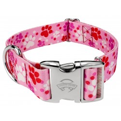 1 1/2 Inch Premium Puppy Love Dog Collar