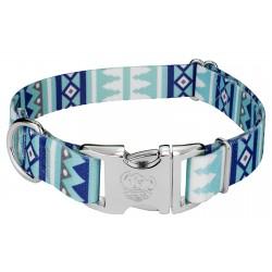 Premium Snowy Pines Dog Collar