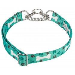 Oh My Dog Half Check Dog Collar
