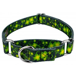 Clovers In The Wind Martingale Dog Collar