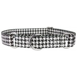 Houndstooth Martingale Dog Collar